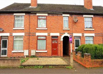 Thumbnail 3 bed terraced house for sale in Linton Road, Castle Gresley, Swadlincote