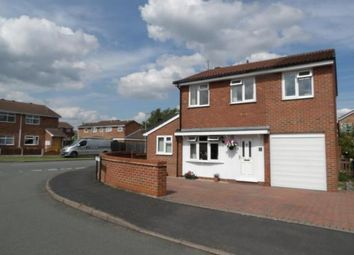 Thumbnail 4 bedroom detached house for sale in Harlech Way, Stretton, Burton-On-Trent