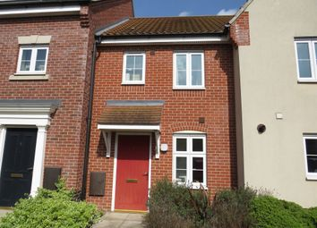 Thumbnail 2 bed terraced house for sale in Juniper Road, Bury St. Edmunds