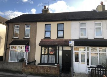 Thumbnail 2 bed terraced house to rent in Queens Park Road, Harold Wood, Romford