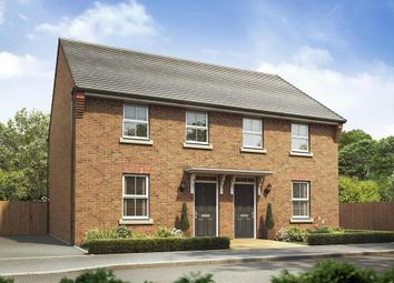 "Thumbnail 3 bed semi-detached house for sale in ""Washford"" at Bridlington Road, Stamford Bridge, York"