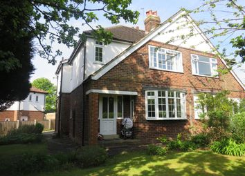 Thumbnail 3 bed semi-detached house for sale in The Avenue, Alwoodley, Leeds