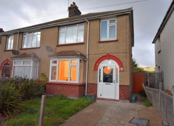 Thumbnail 3 bedroom semi-detached house to rent in Severn Road, Clacton-On-Sea