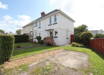 Thumbnail 3 bed semi-detached house for sale in Glanmor Crescent, Barry