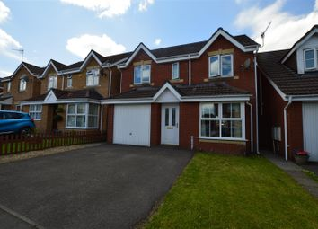 Thumbnail 4 bed detached house for sale in Poets Way, Llanharan, Pontyclun