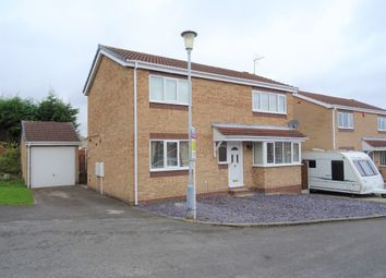Thumbnail 4 bed detached house for sale in Clover Close, Worksop