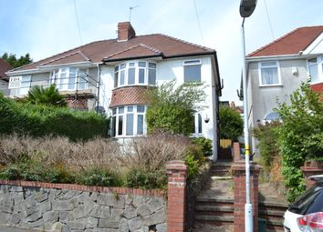 Thumbnail 3 bed semi-detached house for sale in Lon Bryngwyn, Sketty