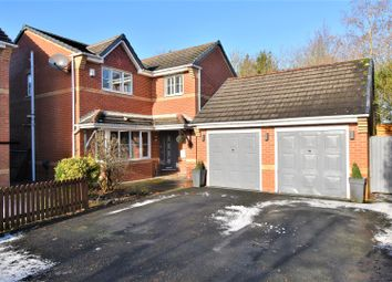 Thumbnail 5 bed detached house for sale in Combermere Close, Tyldesley, Manchester