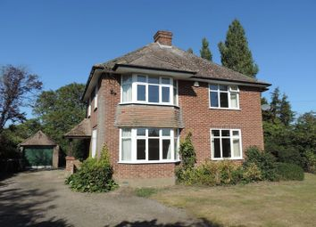 Thumbnail 3 bed detached house to rent in Lavendon Road, Harrold, Bedford