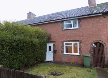 Thumbnail 2 bed end terrace house to rent in Moorfields, Stafford