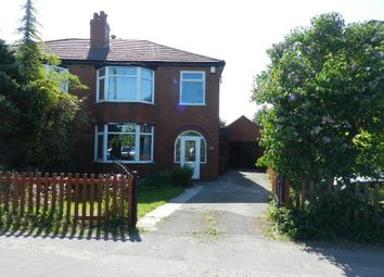 Thumbnail 3 bed semi-detached house to rent in Warrington Road, Culcheth, Warrington