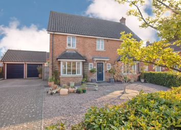 Thumbnail 4 bed detached house for sale in Beckside, Horsford, Norwich