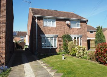 Thumbnail 2 bed semi-detached house for sale in Acorn Close, New Balderton, Newark