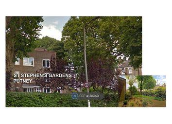 Thumbnail 2 bed maisonette to rent in St Stephen's Gardens, London