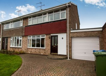 Thumbnail 3 bed semi-detached house for sale in Arundel Drive, Carlton-In-Lindrick, Worksop