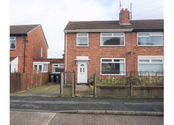 Thumbnail 3 bed semi-detached house for sale in Gladstonbury Place, Newcastle Upon Tyne