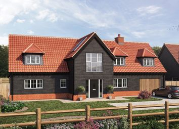 Thumbnail 3 bed detached house for sale in Stortford Road, Leaden Roding, Dunmow