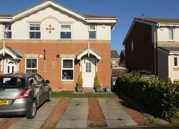 Thumbnail 2 bed semi-detached house for sale in Greenhills, Killingworth, Newcastle Upon Tyne, Tyne And Wear