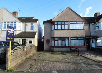 Thumbnail 2 bed end terrace house for sale in Burns Avenue, Blackfen, Kent
