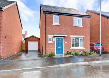 Thumbnail 3 bed detached house for sale in Lawnspool Drive, Kempsey, Worcester