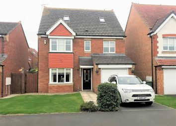 Thumbnail 5 bed detached house for sale in Beadnell Grove, Ashington, Northumberland