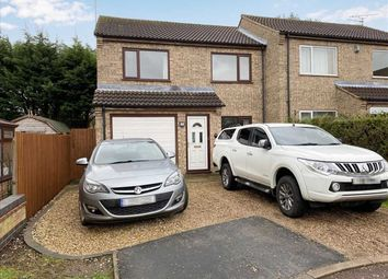 Thumbnail 3 bed semi-detached house to rent in Sedge Close, Leasingham, Sleaford