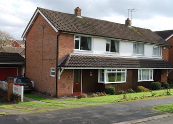 Thumbnail 3 bedroom semi-detached house for sale in Loxley Road, Glenfield, Leicester