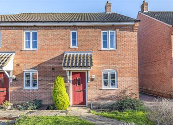 Thumbnail 2 bed end terrace house for sale in Meridian Close, Hardwick, Cambridge