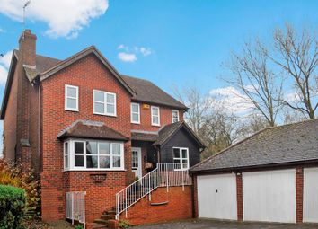 Thumbnail 4 bed detached house for sale in Elmers Meadow, North Marston, Buckingham