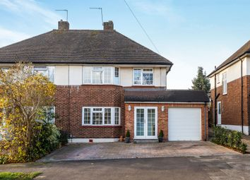 Thumbnail 4 bedroom semi-detached house for sale in Hammers Gate, Chiswell Green, St.Albans
