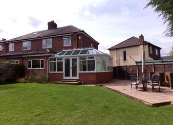 Thumbnail 4 bed semi-detached house for sale in The Quadrant, Romiley, Stockport, Chesire