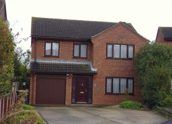 Thumbnail 4 bed detached house for sale in Harvest Close, Metheringham, Lincoln