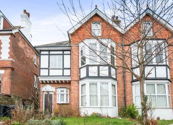 Thumbnail 1 bed flat for sale in Amherst Road, Bexhill-On-Sea