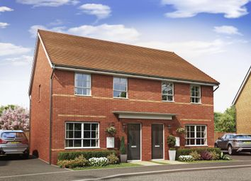 "Thumbnail 3 bedroom semi-detached house for sale in ""Maidstone"" at Lancaster Avenue, Watton, Thetford"