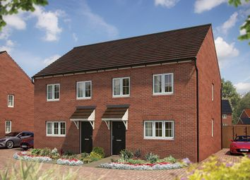 "Thumbnail 3 bed semi-detached house for sale in ""The Rowan"" at St. James Way, Biddenham, Bedford"