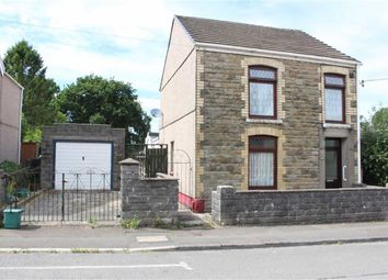 Thumbnail 3 bed detached house for sale in Gurnos Road, Gowerton, Swansea