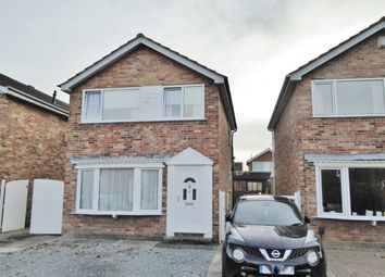 Thumbnail 3 bed detached house for sale in Bilsdale Close, Rawcliffe, York
