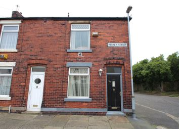 Thumbnail 2 bed end terrace house for sale in Rodney Street, Castleton, Rochdale, Greater Manchester