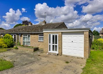 Thumbnail 4 bed semi-detached bungalow for sale in St. Marys Crescent, Badwell Ash, Bury St. Edmunds