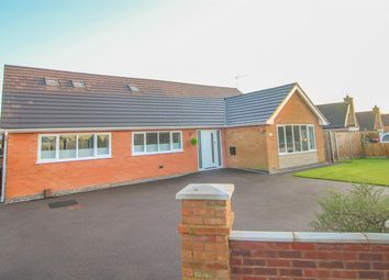 Thumbnail 4 bed detached bungalow for sale in Turville Road, Gilmorton, Lutterworth