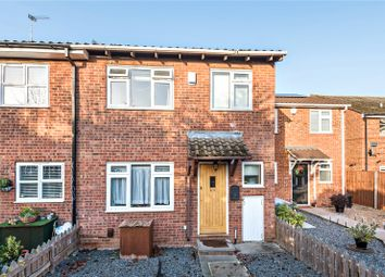Thumbnail 3 bed end terrace house for sale in Ratcliffe Close, Uxbridge, Middlesex
