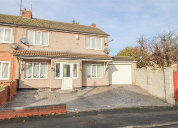 Thumbnail 4 bedroom end terrace house for sale in Carlton Road, Coventry