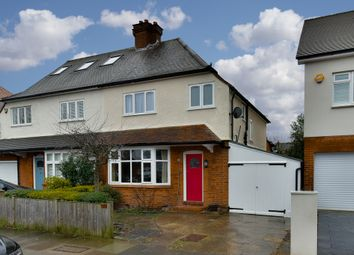 Thumbnail 3 bedroom semi-detached house to rent in Cotterill Road, Surbiton