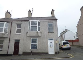 Thumbnail 2 bed end terrace house for sale in Holborn Road, Holyhead, Anglesey