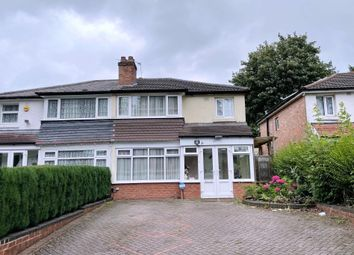 Thumbnail 3 bed semi-detached house to rent in Solihull Lane, Hall Green, Birmingham
