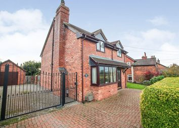 Thumbnail 3 bed detached house for sale in Wrexham Road, Malpas