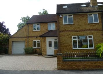 Thumbnail 5 bed semi-detached house to rent in Almond Close, Shepperton
