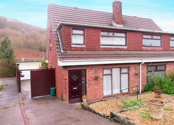 Thumbnail 3 bed semi-detached house for sale in Greenlands Road, Llantrisant, Pontyclun