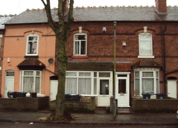 Thumbnail 3 bed terraced house to rent in Somerset Road, Handsworth, Birmingham