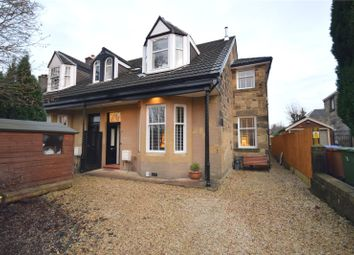 Thumbnail 5 bedroom semi-detached house for sale in Orleans Avenue, Jordanhill, Glasgow